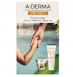 Aderma Protect Kids Children Lotion SPF50+ 250ml + Δώρο Polybag ProtectKids 1τμχ