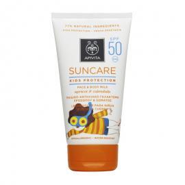 Apivita Suncare Kids Protection Face & Body Milk Spf50 με βερύκοκο & καλέντουλα 150ml