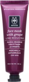 APIVITA Face Mask Με Σταφύλι 50ml