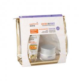 Panthenol Extra Set Sun Care Diaphanous Face Gel SPF50 50ml & Face & Eye Anti-Wrinkle Cream 50ml & ΔΩΡΟ Νεσεσέρ