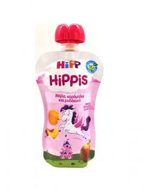 Hipp Hippis Μονόκερος Μήλο,Κορόμηλο και Ροδάκινο 100gr