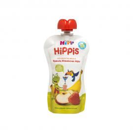 Hipp Hippis Φράουλα, Μπανάνα & Μήλο 100gr