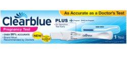 CLEARBLUE PLUS Τεστ Εγκυμοσύνης μονό