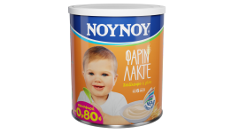 ΝΟΥΝΟΥ Φαρίν Λακτέ Με Σιτάλευρο Και Γάλα 300gr