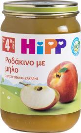 Hipp Βρεφική φρουτόκρεμα ροδάκινο με μήλο 190gr