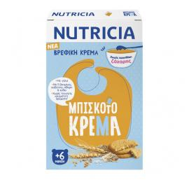 Nutricia Βρεφική Κρέμα Μπισκοτόκρεμα 250gr