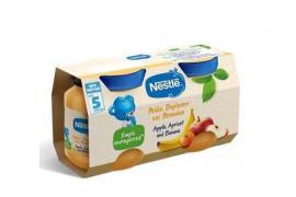 Nestle Παιδική Τροφή με Μήλο, Βερίκοκο και Μπανάνα 2Χ125gr