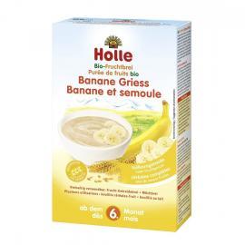Holle Παιδική κρέμα από μπανάνα και σιμιγδάλι 6m+ 250gr