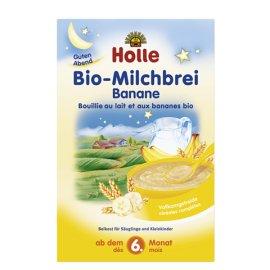 Holle Βρεφική Κρέμα με Μπανάνα & Γάλα 6+ Μηνών 250gr