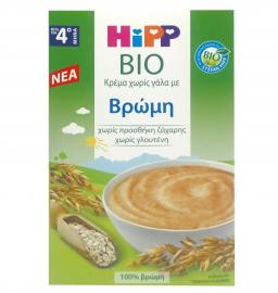 Hipp Bio Κρέμα Χωρίς Γάλα με Βρώμη Μετά τον 4ο Μήνα 200g