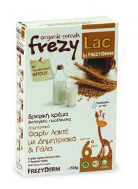 Frezy-Lac - Οrganic Cream Φαρίν Λάκτε Δημητριακά & Γάλα 200gr