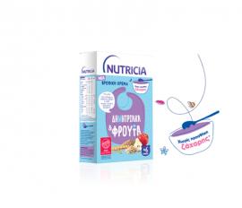 Nutricia Βρεφική Κρέμα Δημητριακά & Φρούτα 250gr