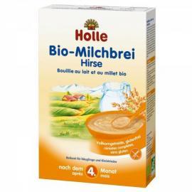 Holle Eco-Bio Παιδική Κρέμα Κεχρί & Γάλα 4 μηνών, 250gr