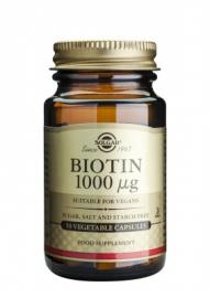Solgar Biotin 1000mcg Vegetable 50cap
