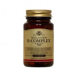 """SOLGAR MEGASORB B-COMPLEX """"50"""" 50TAB"""