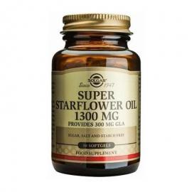 SOLGAR SUPER STARFLOWER OIL 1300MG SOFTGELS 30S