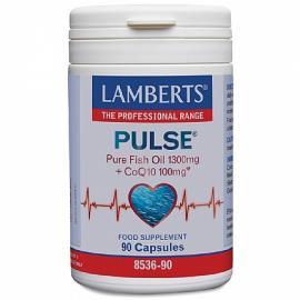 Lamberts Pulse Fish Oil & CoQ10 90caps