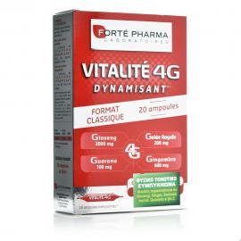 Forte Pharma Energy Vitality 4G, Τονωτικό Σύμπλοκο Φυτικής Προέλευσης, 20amp