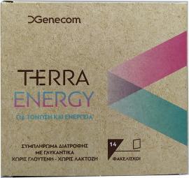 Genecom Terra Energy Συμπλήρωμα Διατροφής Για Τόνωση & Ενέργεια 14 Φακελίσκοι