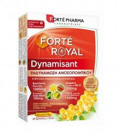 Forte Pharma Forteroyal Dynamisant Συμπλήρωμα Διατροφής για την Ενίσχυση του Ανοσοποιητικού 20 Αμπούλες των 10ml
