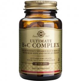 SOLGAR ULTIMATE B+C COMPLEX 30TAB