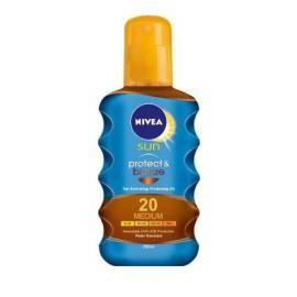 Nivea Sun Protect & Bronze SPF20 Αντηλιακό Λάδι Ενεργοποίησης Μαυρίσματος 200ml