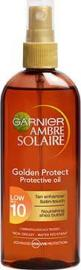 Garnier Ambre Solaire Golden Protect SPF10 Αντηλιακό Λάδι 150ml
