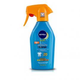 Nivea Sun Protect & Bronze SPF20 Trigger Spray Αντηλιακό Ενεργοποίησης Μαυρίσματος 300ml