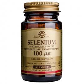 SOLGAR Selenium 100μg - 100tabs