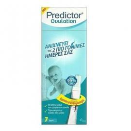 Predictor Ovulation Τέστ Ωορρηξίας 7 τμχ