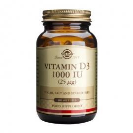SOLGAR Vitamin D3 1000IU -100softgels