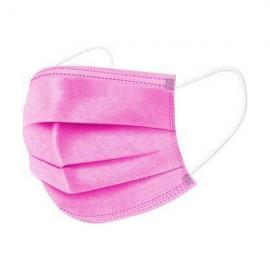 Mάσκες προσώπου 3ply Disposable medical mask χειρουργικές μάσκες 50 τεμάχια [Ροζ]