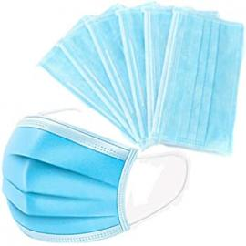 Medak Προστατευτική Μάσκα Ατομικής Προστασίας Μιας Χρήσεως Μπλε 10τμχ