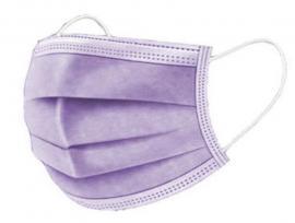 Mάσκες προσώπου 3ply Disposable medical mask χειρουργικές μάσκες 50 τεμάχια [Λιλά]