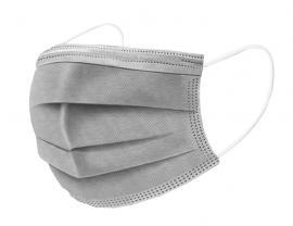 Mάσκες προσώπου 3ply Disposable medical mask χειρουργικές μάσκες 50 τεμάχια [Γκρι]