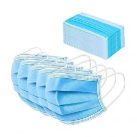 Μάσκα Χειρουργική Προστασίας Προσώπου 3 Στρωμάτων (3-ply) με πιστοποίηση CE 50τμχ