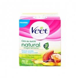 Veet Sugar Wax Natural Inspirations Ζεστό Κερί Αποτρίχωσης 250ml
