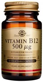 Solgar Vitamin B12 500mg, 50 Κάψουλες