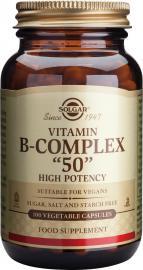 SOLGAR B-50 COMPLEX 100VCAP