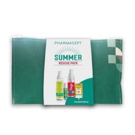 Pharmasept PROMO Insect Lotion 100ml - SOS After Bite 15ml - Flogo Instant Calm Spray 100ml - Arnica Cream Gel 15ml