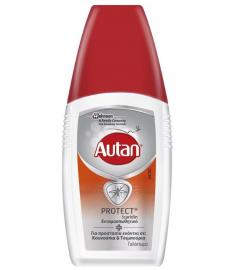 Autan Protect Γαλάκτωμα για Προστασία Ενάντια σε Κουνούπια & Τσιμπούρια 100ml