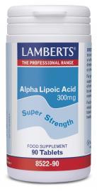 LAMBERTS Alpha Lipoic Acid 300mg 90tb