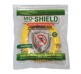 Mo-Shield Αντικουνουπικό Βραχιόλι Κίτρινο 1τμχ