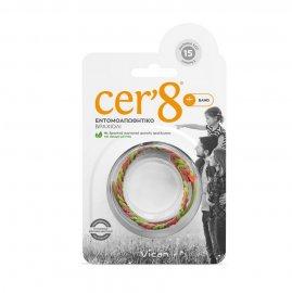 Vican Cer`8 Band Εντομοαπωθητικό Βραχιόλι 1τμχ