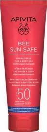 Apivita Bee Sun Safe Hydra Fresh Face & Body Milk Ενυδατικό Αντηλιακό Γαλάκτωμα για Πρόσωπο & Σώμα SPF50, 200ml