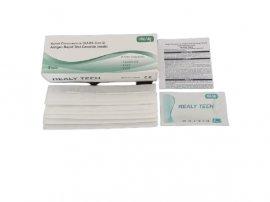 Realy Novel Coronavirus SARS-Covid-2 Antigen Rapid Test Cassette Swab Τεστ Αντιγόνων 5 Τεμάχια