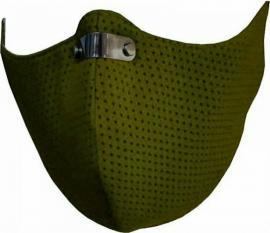 RespiShield Μέγεθος:S Χρώμα:Λαδί Επαναχρησιμοποιούμενη Μάσκα Μακράς Διαρκείας [PM2.5. PM10] 1 Τεμάχιο