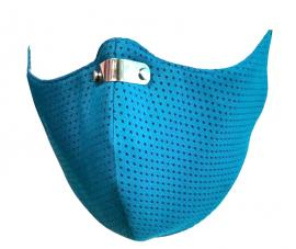 RespiShield Μάσκα γενικής προστασίας ΡΜ2.5 - PM10 Large Γαλάζια 1τμχ