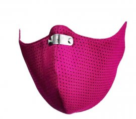 RespiShield Μάσκα γενικής προστασίας ΡΜ2.5 - PM10 Extra Small Φούξια 1τμχ