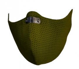RespiShield Μέγεθος:M Επαναχρησιμοποιούμενη Μάσκα Μακράς Διαρκείας Χρώμα:Λαδί [PM2.5. PM10]  1 Τεμάχιο